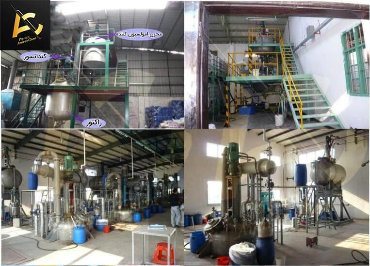 مراحل تولید پلی وینیل الکل